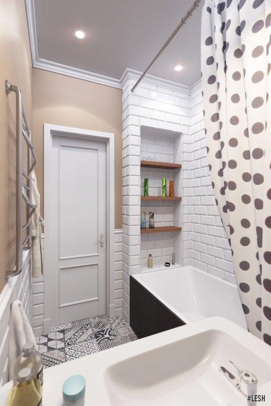 Современная ванная | Novocherkasskiy - 63м.