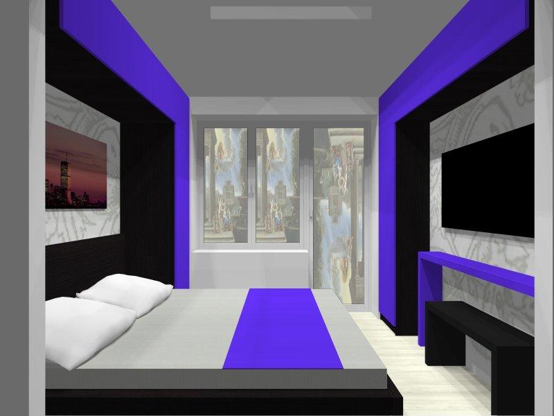 4 Проект спальни