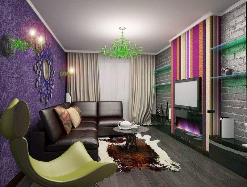 Цветная гостинная