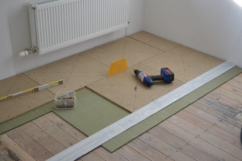 Ремонт спальни  1. Стены, пол, электрика. 035