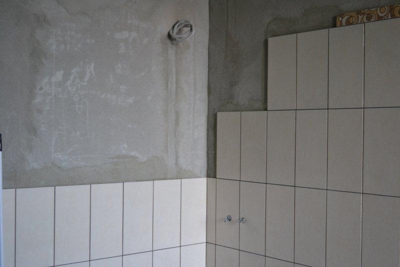 Ремонт ванной комнаты. Пол и стены. 020