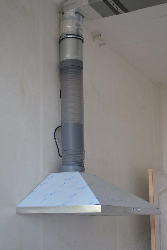 вентиляция для кухонной вытяжки 040