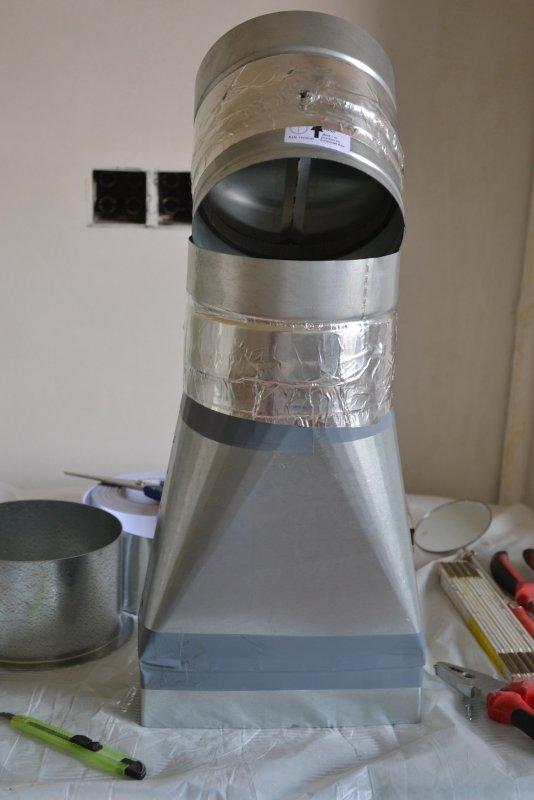 вентиляция для кухонной вытяжки 014
