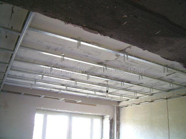 027 1 каркас потолка