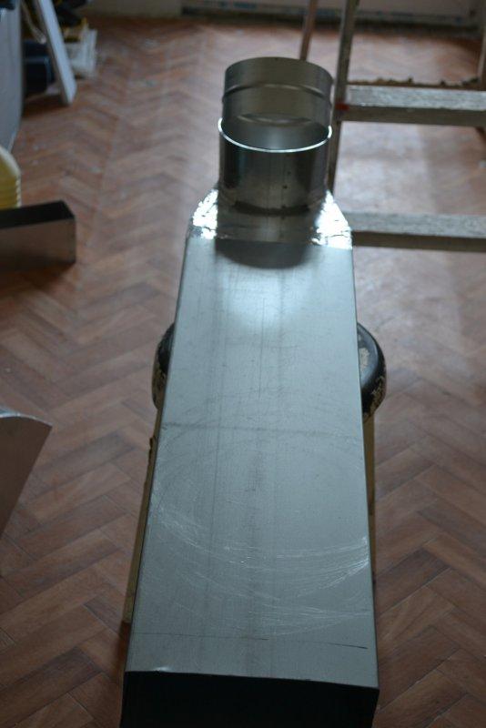 вентиляция для кухонной вытяжки 030