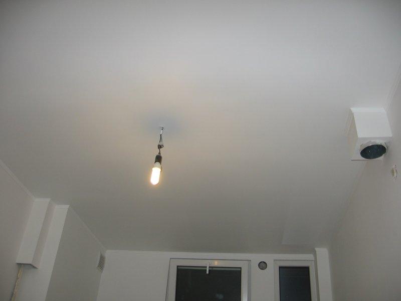 Ремонт на кухне. Потолок. 025