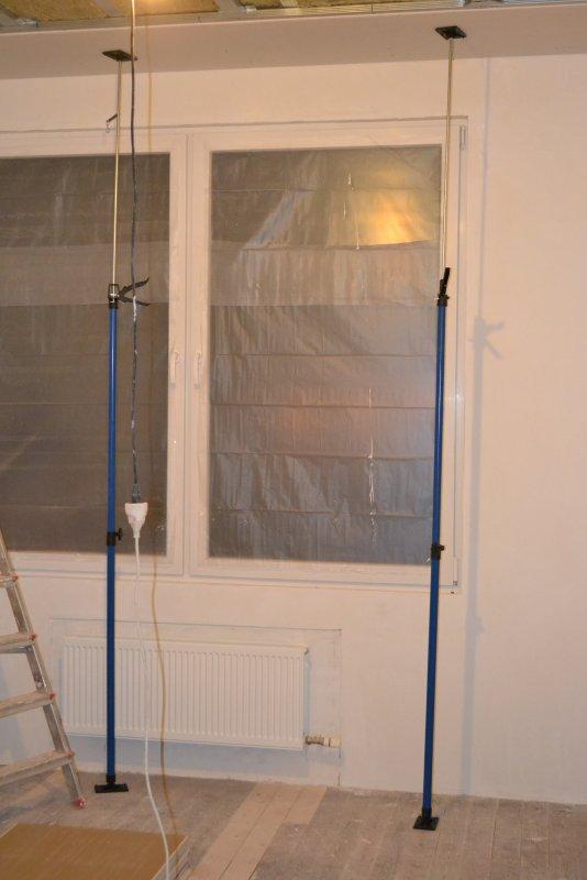 Ремонт в спальне 2. Потолок 028