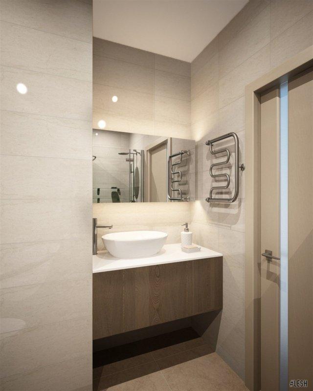 Современная ванная комната | Tribuca 100 м.