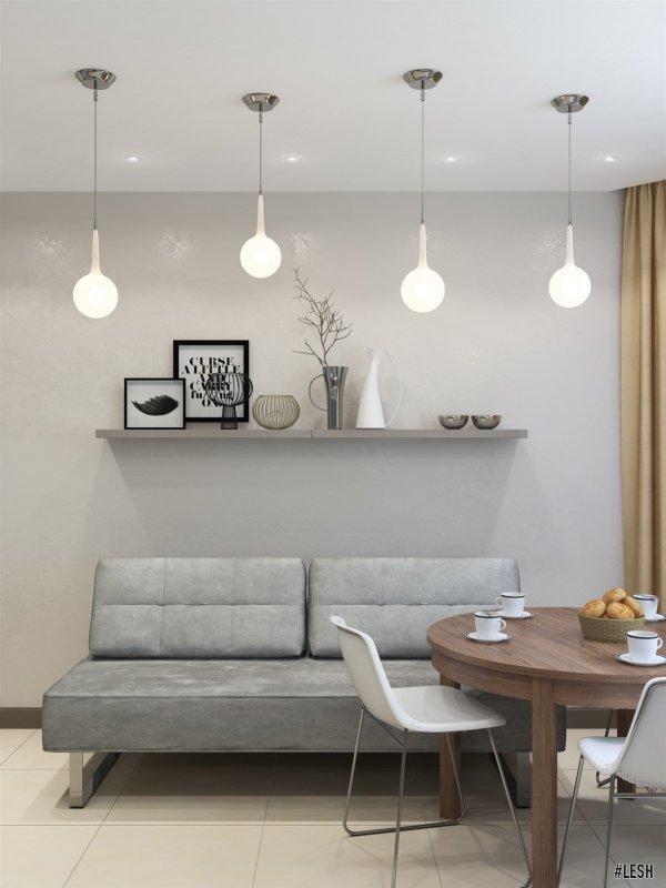 Двухметровый диван для гостей | Butlerova - 69м.