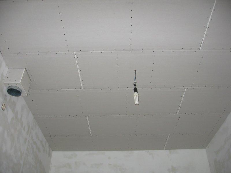 Ремонт на кухне. Потолок. 021