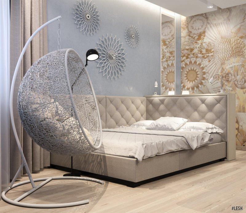 Современная мебель в спальне | Butlerova - 69м.