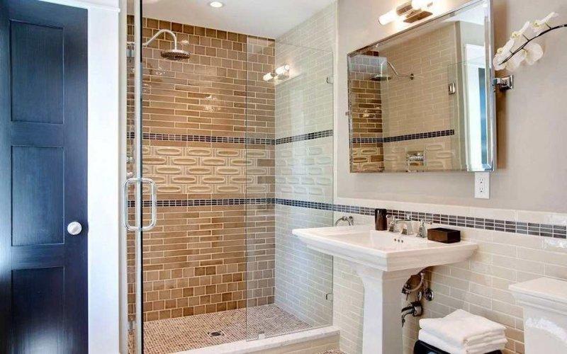 Идея для ванной с душем