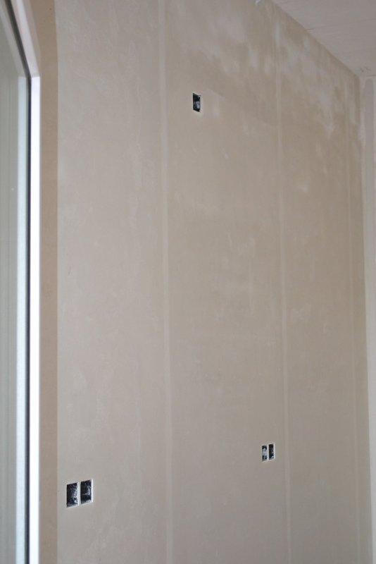 Ремонт кухни. Стены, пол, электрика. 030