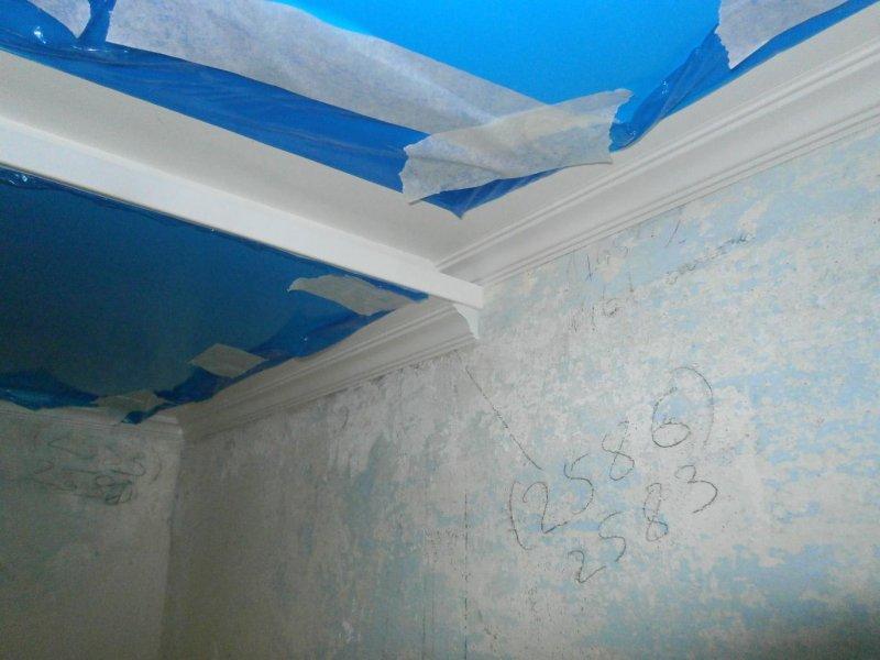 4 Потолок из сэндвич панелей ПВХ ( фото 4 )