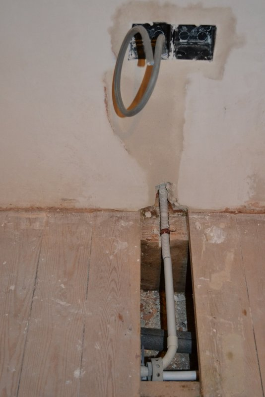 Ремонт спальни  1. Стены, пол, электрика. 041