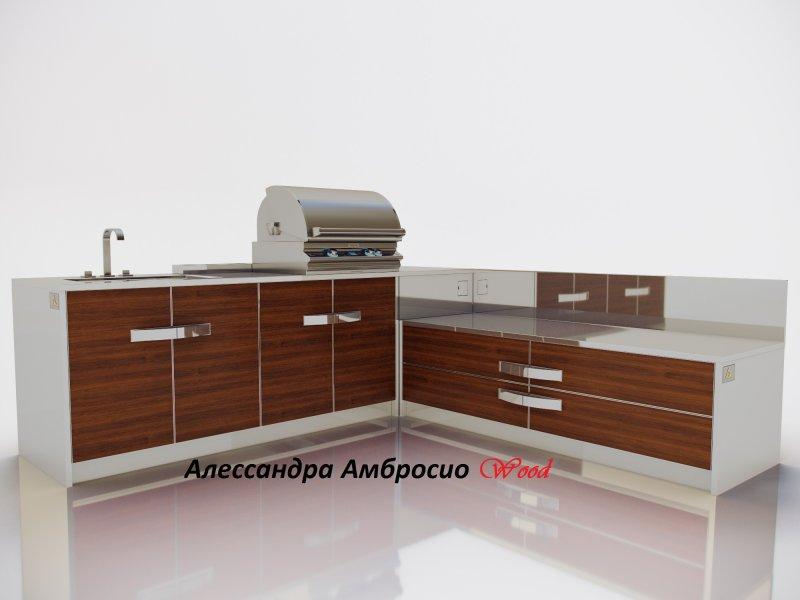 Алессандра Амбросио Wood