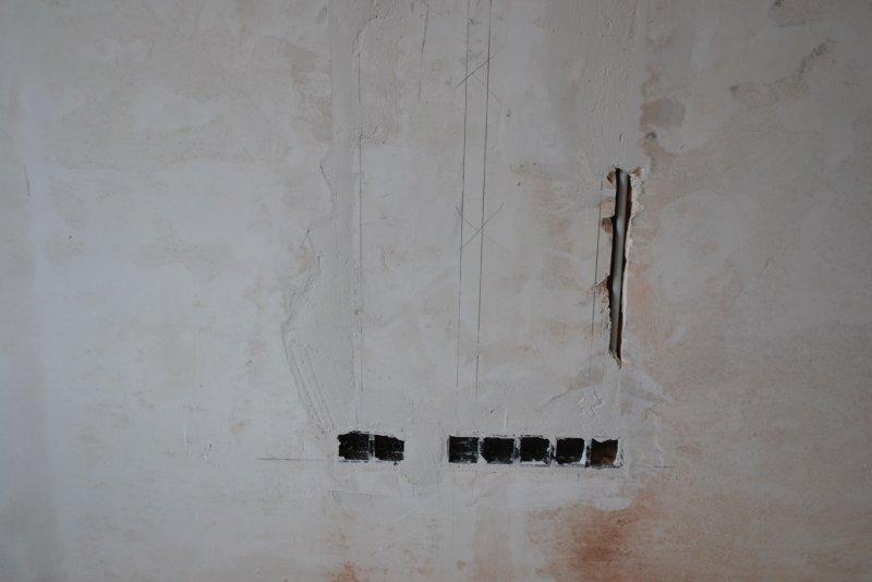 Ремонт спальни 2. Пол и стены. 029