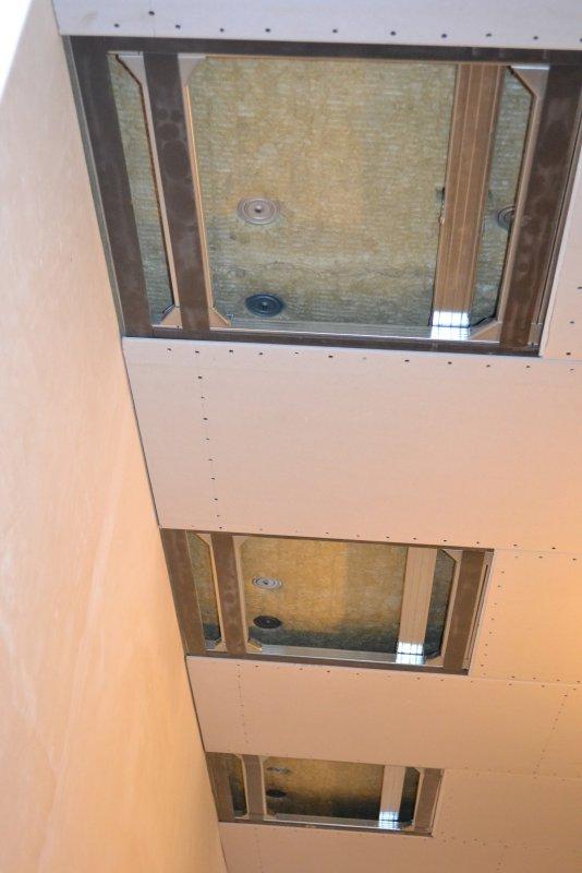 Ремонт спальни 1. Потолок 043