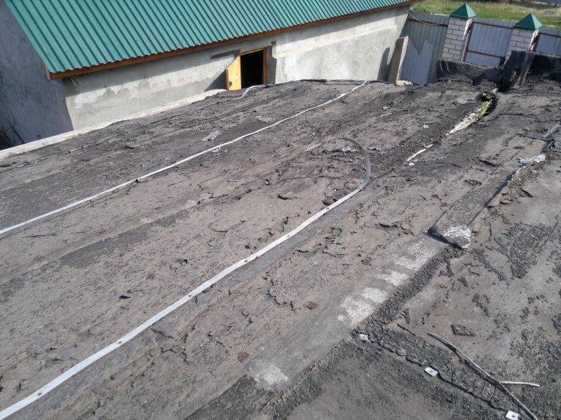 Крыша пристройки 3.