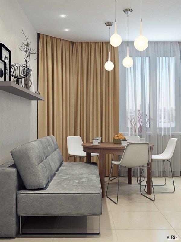 Кухня-столовая | Butlerova - 69м.