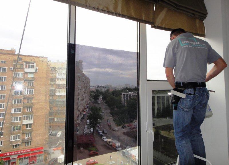 Тонирование стекла