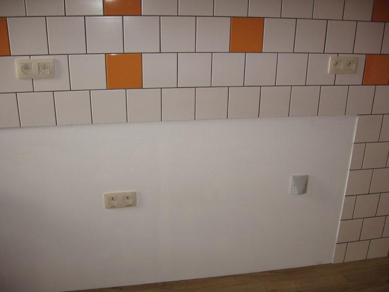 Ремонт кухни. Стены, пол, электрика. 069