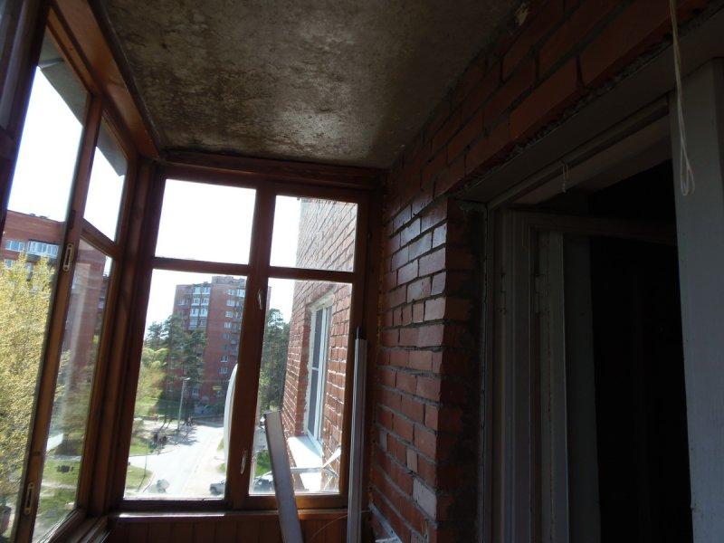 Отделка балкона от СБК-ремонт 5