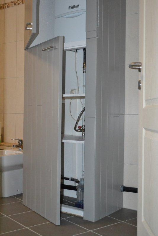 Шкаф в ванной комнате. 019