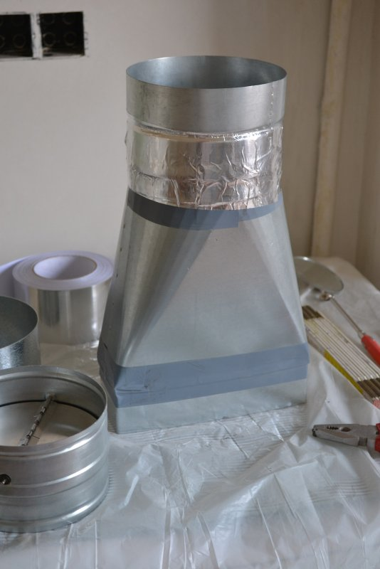 вентиляция для кухонной вытяжки 010