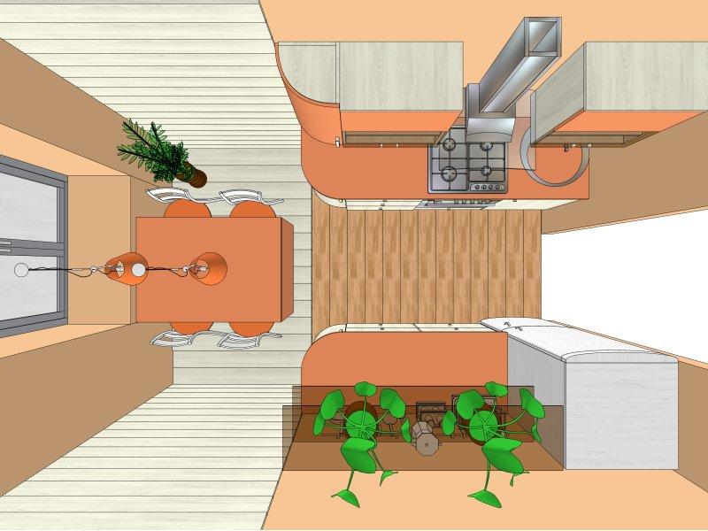 кухня м2