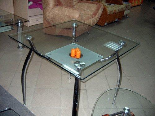 Стеклянный стол Элегант-1