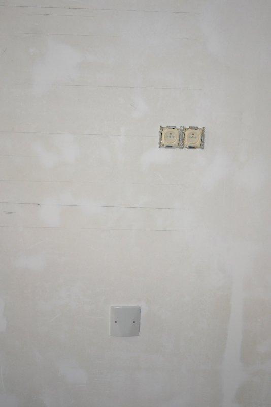 Ремонт кухни. Стены, пол, электрика. 045