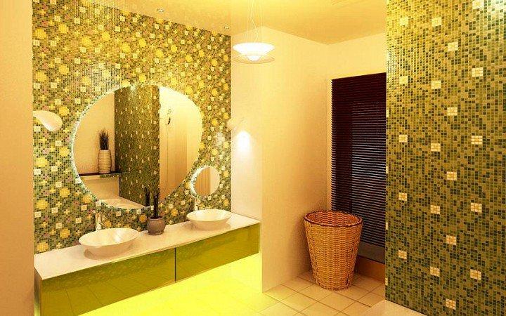 Дизайн-проект ванной комнаты - 2