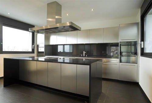 Стиль миниманилзм на кухне