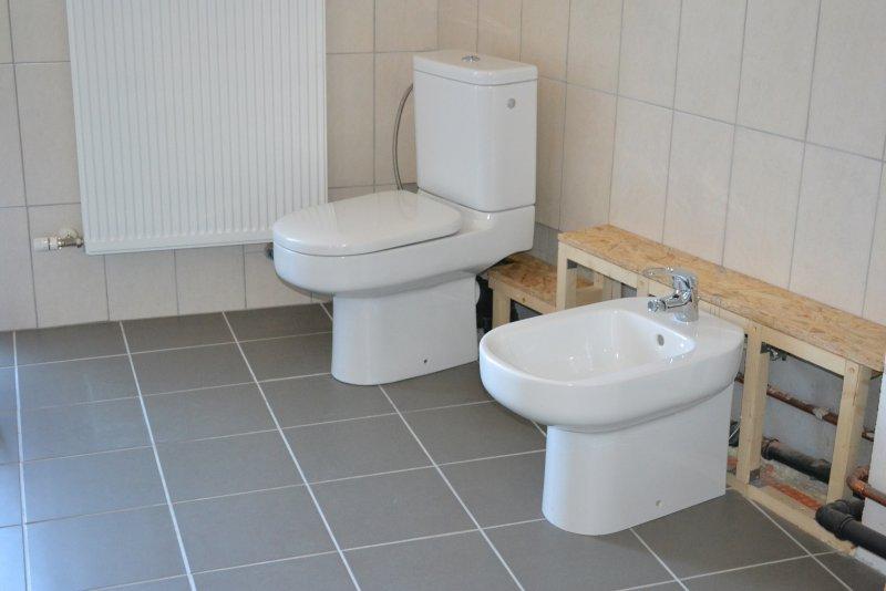 Ремонт ванной комнаты. Пол и стены. 032