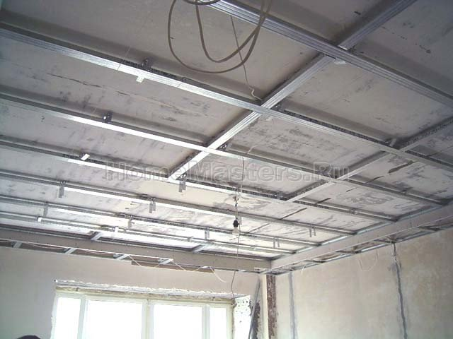 037a каркас гкл потолка