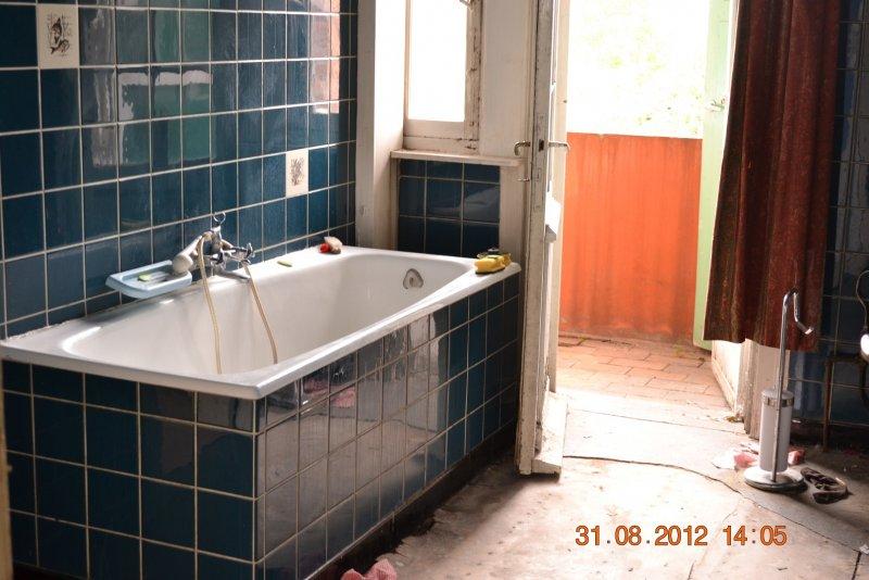 Ремонт ванной комнаты. Пол и стены. 003