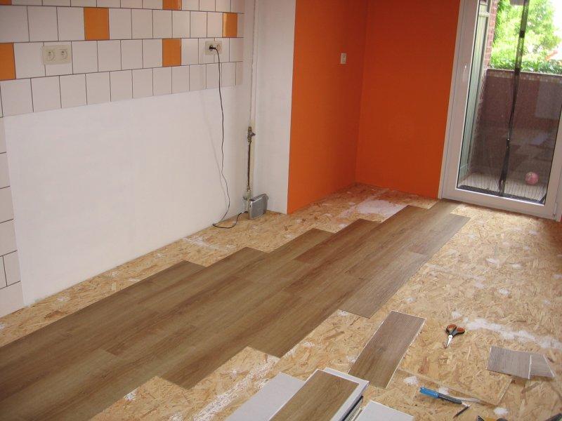 Ремонт кухни. Стены, пол, электрика. 058