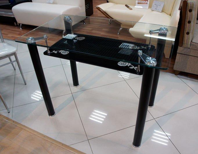 Обеденный стол Розали черный