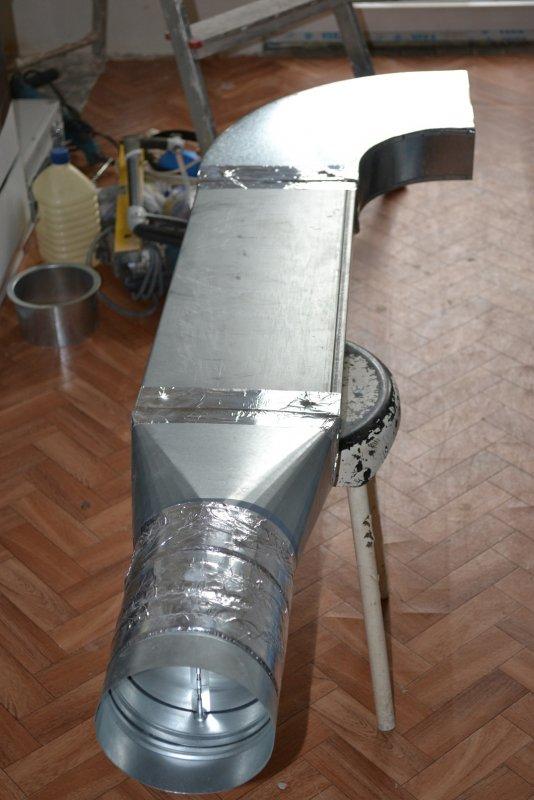 вентиляция для кухонной вытяжки 020