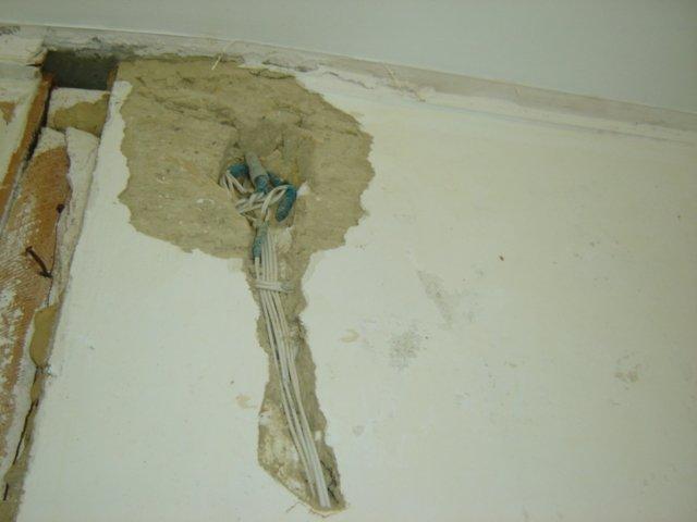 Гипсолитовая стена