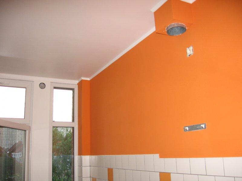 Ремонт кухни. Стены, пол, электрика. 065