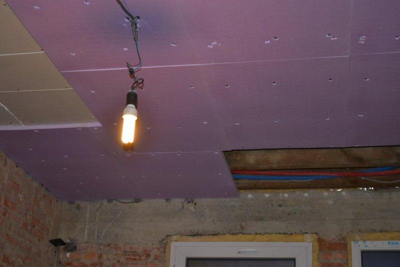 Ремонт на кухне. Потолок. 006