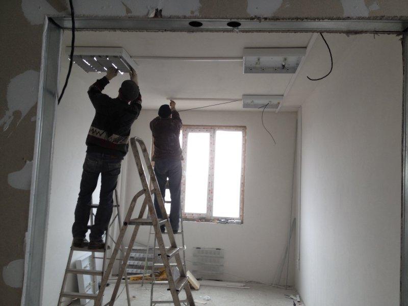 Электромонтаж освещения (2)