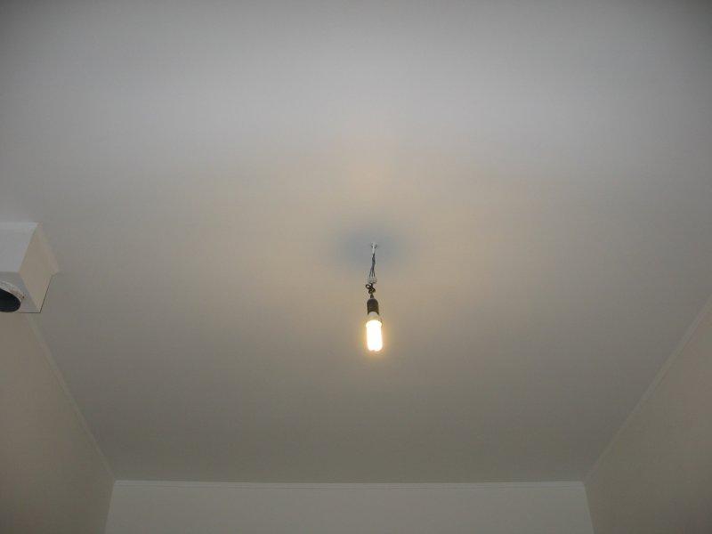 Ремонт на кухне. Потолок. 026