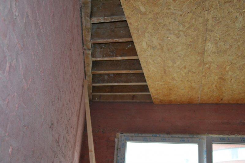 Ремонт в спальне 2. Потолок 008