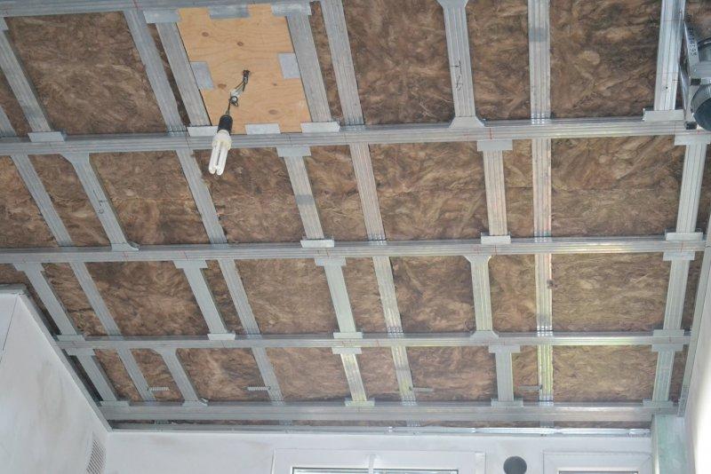Ремонт на кухне. Потолок. 012
