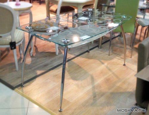 Стеклянный стол Элегант-2