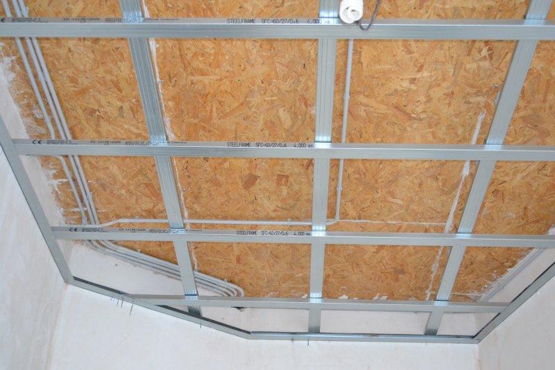 Ремонт в спальне 2. Потолок 016