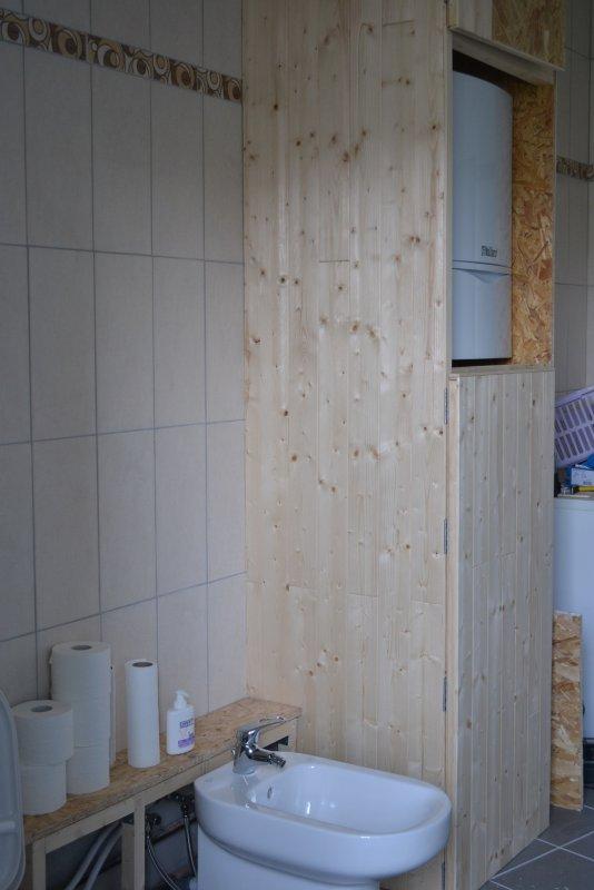 Шкаф в ванной комнате. 006